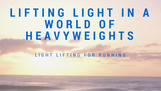 Lifting Light in a World of Heavyweights