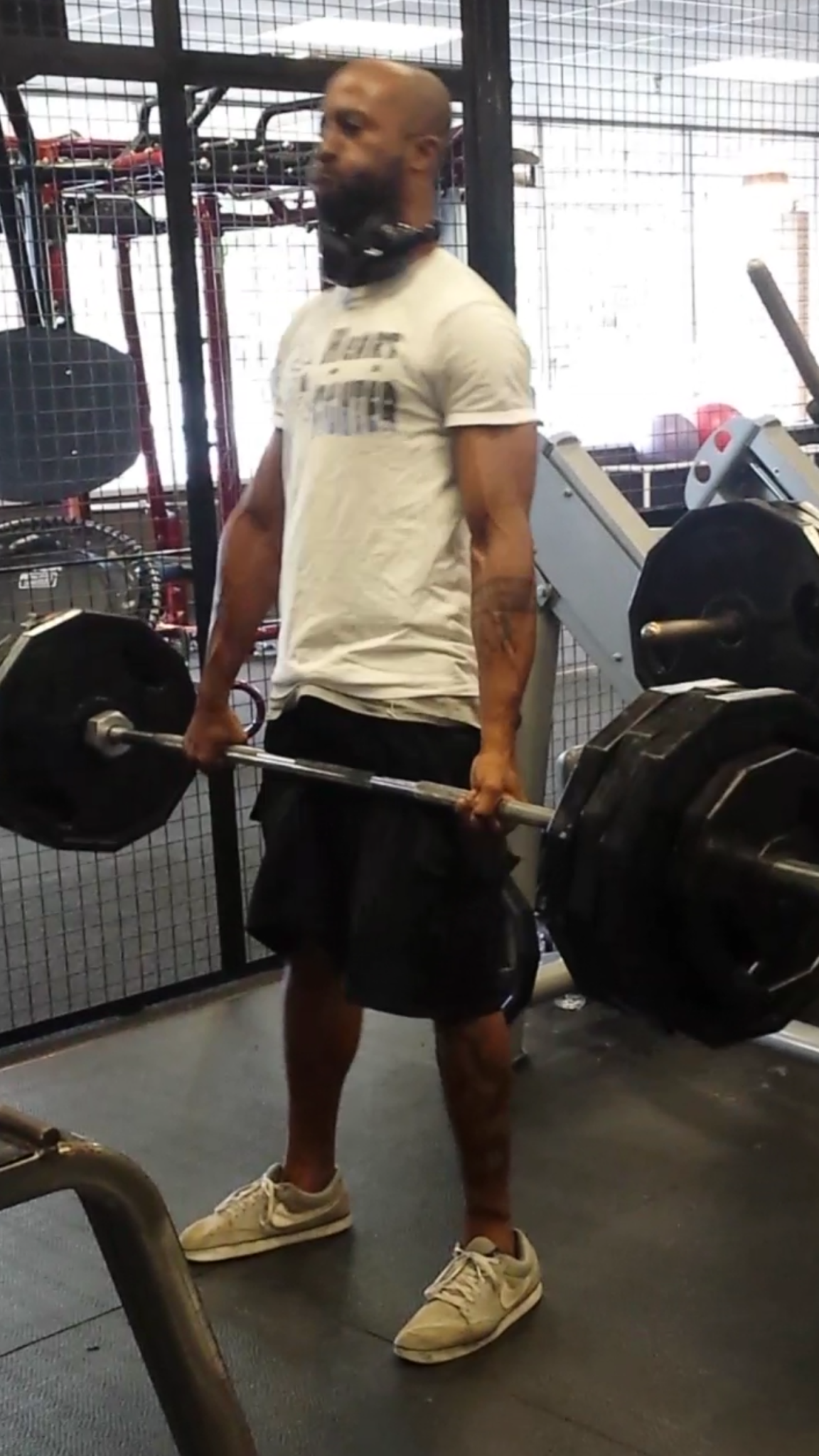 Almost-Max Deadlift Anaerobic Workout of the Week